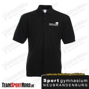 Poloshirt schwarz -