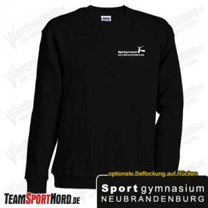 Sweatshirt schwarz -