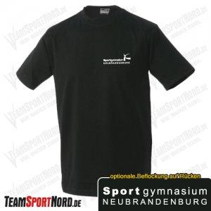 T-Shirt schwarz -